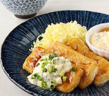 チキンじゃなくても大満足! ボリュームたっぷり豆腐南蛮