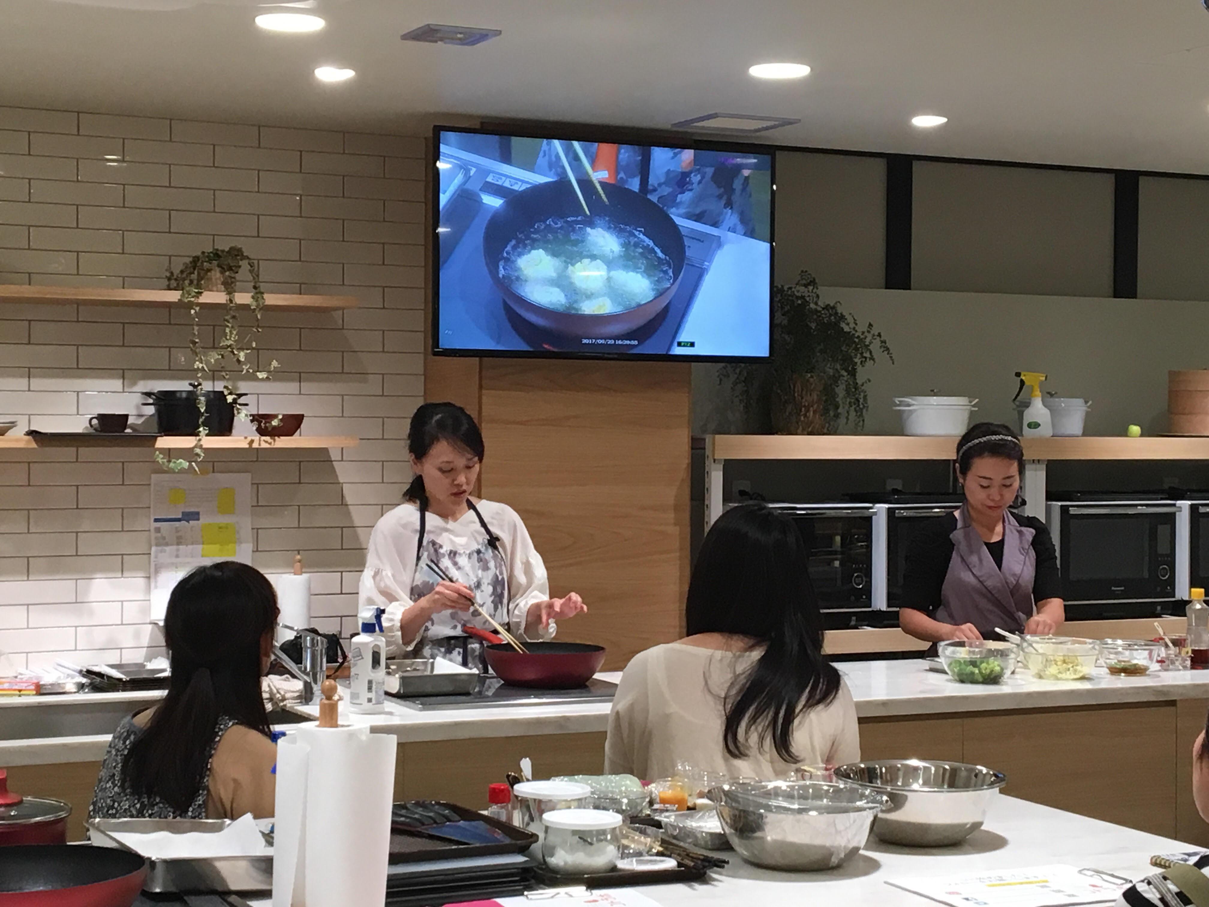 栁川かおり:9/24開催の コトラボ料理教室にて講師