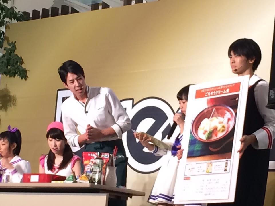 高橋善郎:saita×味の素 タイアップ企画 出演