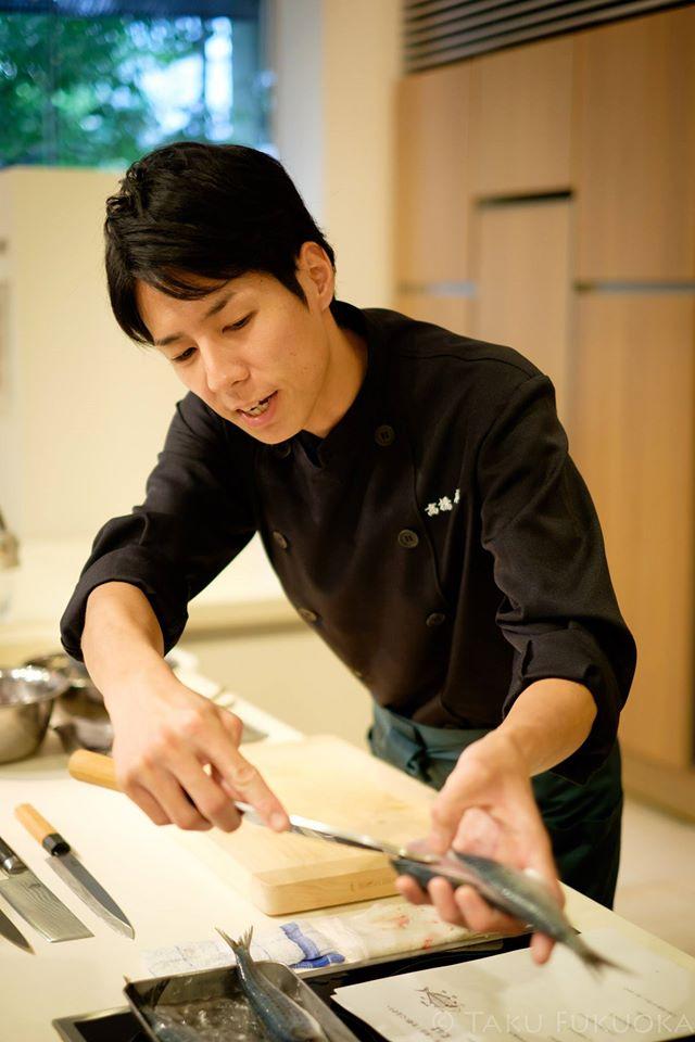 高橋善郎:貝印刃物開発センター様 魚のおろし方講習 ~和包丁をつかいこなそう~ 実施
