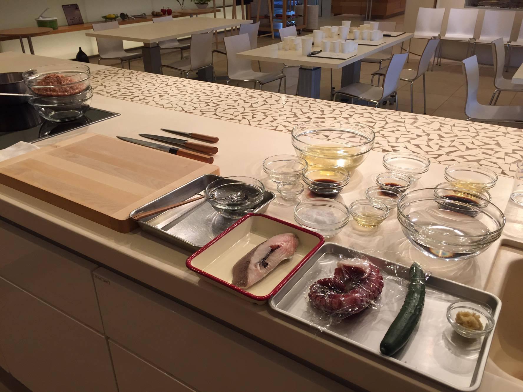 高橋善郎:貝印刃物開発センター様  魚のおろし方講習~たれの割合で学ぶ、和の基本~ 実施