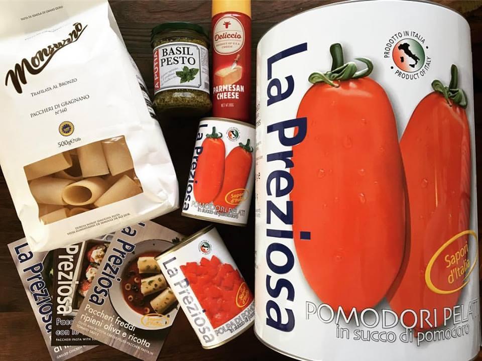 ヤミー:KALDIさま 数量限定発売 BIGトマト缶 同梱レシピ開発