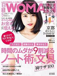 ヤミー:日経WOMAN 5月号(4/7発売) 「時間のムダが9割なくなる ノート術&文房具」に掲載されました