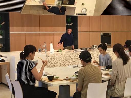 高橋善郎:貝印株式会社様の「魚さばき教室~秋~」講師