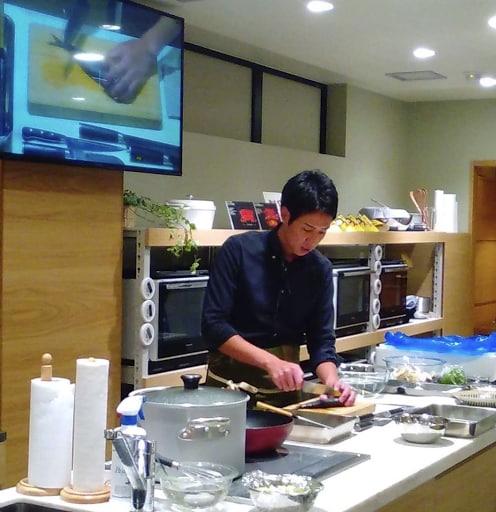 高橋善郎:10/14開催の コトラボ料理教室にて講師