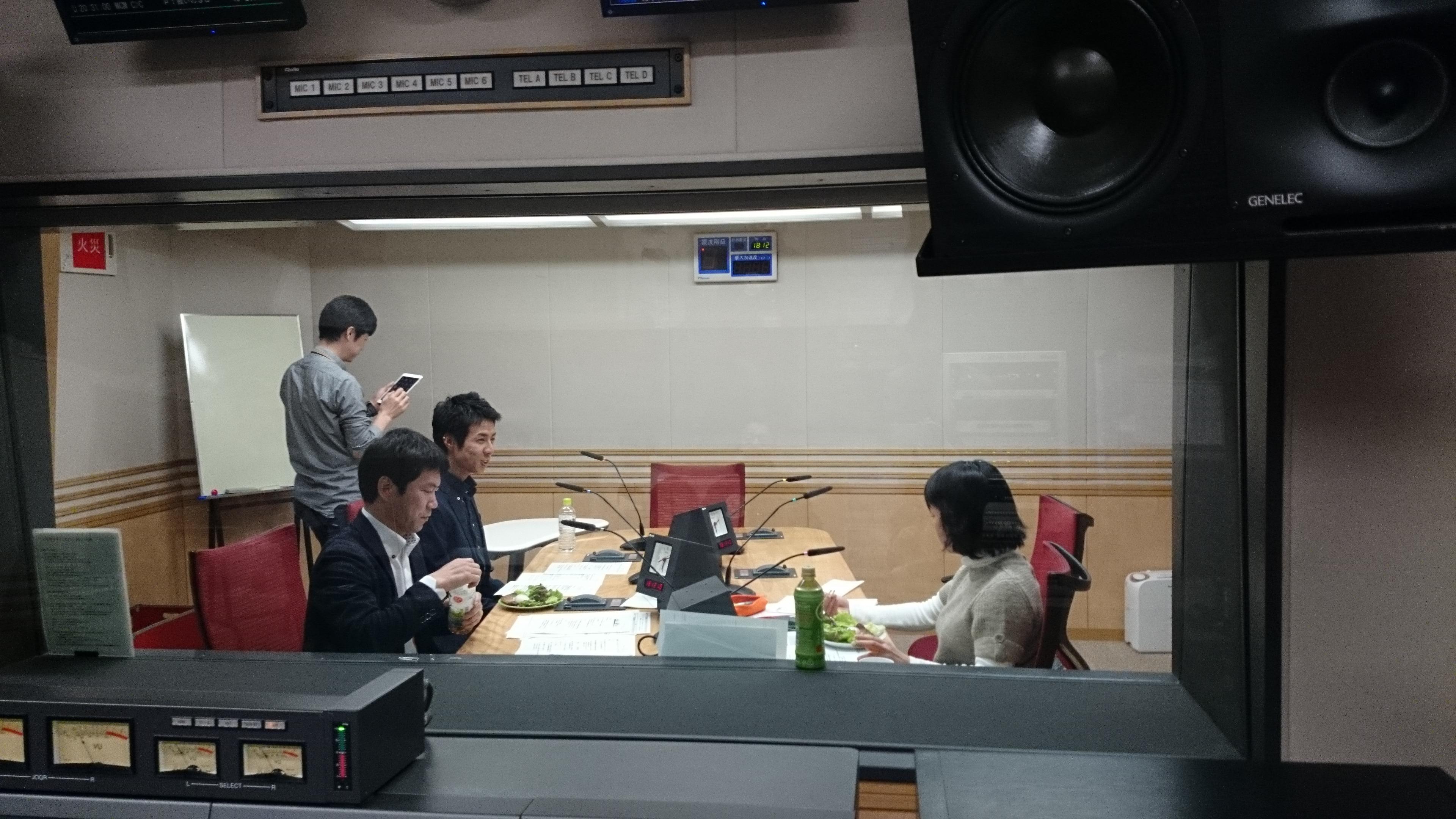 高橋善郎:文化放送 SET UPにゲスト出演しました。