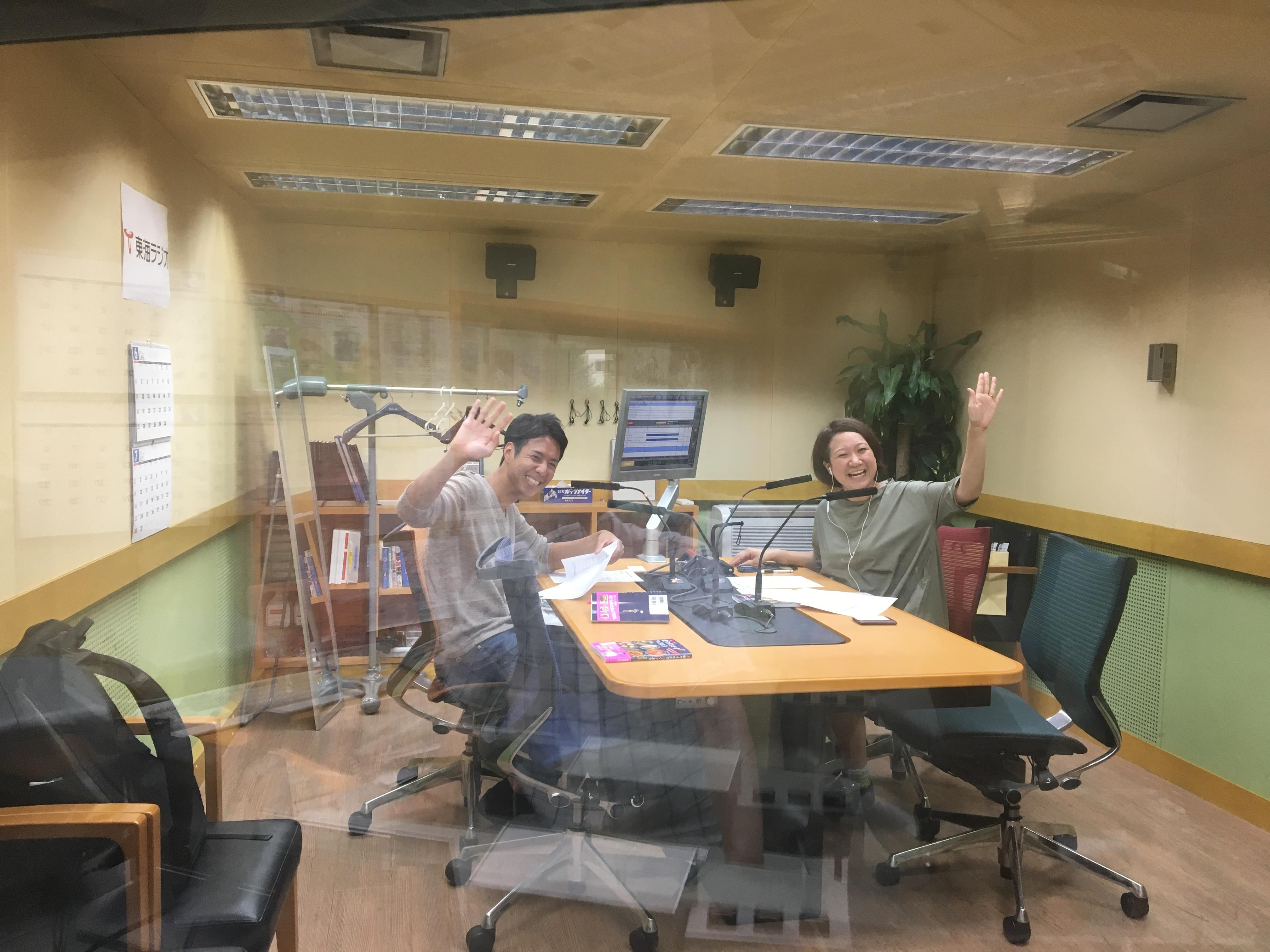 高橋善郎:東海ラジオ「TOKYO UPSIDE STATION」に出演