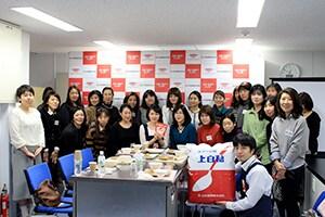 栁川かおり:三井製糖株式会社様 「スローカロリーシュガー料理教室」開催