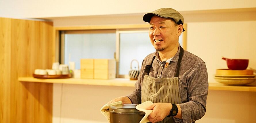 kamekichipapaさん、素敵な笑顔とお話どうもありがとうございました!