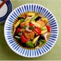 【PR】〈もっと身近にだしのある暮らしを〉JUNAさん家の鶏竜田と野菜のだしポン酢浸し