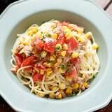 【PR】全部レンチン♪「トマトとツナコーンの冷製パスタ」