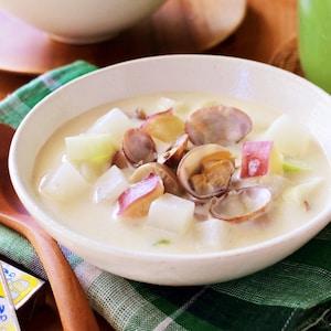 冬野菜でほっこりスープ♪チーズで美味しいアスリートごはん