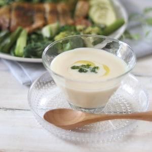 暑い夏はランチに冷製スープをプラス!カフェ風メニューでくつろぎ時間