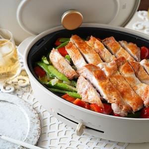 【PR】ジューシー簡単なお肉料理も!BRUNO crassy+で楽しむライブ感ある食卓。