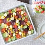 【PR】カツオに野菜とチーズで華やか洋風ちらし♪チーズで美味しいアスリートごはん