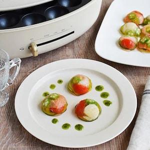 おうちレストラン!ひと口サイズがうれしい「彩り野菜とシーフードの冷製テリーヌ」
