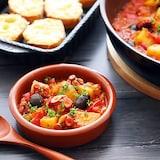 【PR】おうちでバル風♪「タコとジャガイモのパプリカ煮」