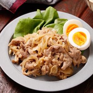レンジで簡単に!作り置きやお弁当にも便利な「豚肉と玉ねぎの照り照り」