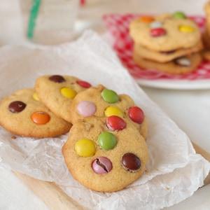 材料6つ!米粉で作るしっとりチョコチャンククッキー