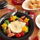 レンジで簡単!カラフル野菜のチーズフォンデュ