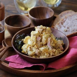 【PR】ピリッと大人味なチーズポテサラはいかが?チーズで美味しいアスリートごはん