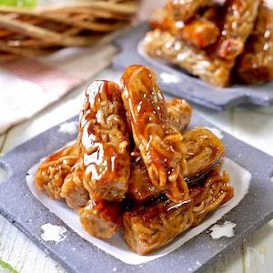 蕎麦×黒糖の組み合わせがやみつきに!?そば1玉で作れる「黒糖お蕎麦かりんとう」