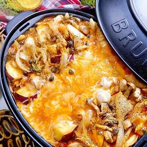 旬の食材で秋らしく♪BRUNOで作る満腹チーズタッカルビ