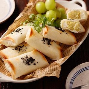 レンジ&トースターで作る新食感スイーツ♪「スイートポテト春巻き」