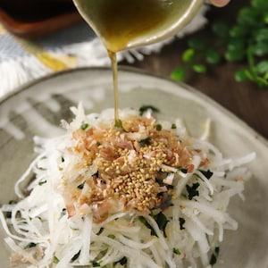 「京風割烹 白だし」で簡単&美味しい和風ドレッシング