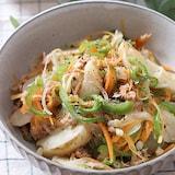 お手軽!ツナと野菜のうま味たっぷり「冷凍ポテトで野菜塩じゃが」