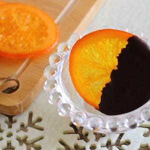 オーブンで作れちゃうドライフルーツ!チョコオランジェット