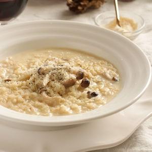 白味噌×豆乳でクリーミーに♪玄米リゾット