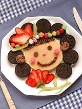ママのスマイルホットケーキ