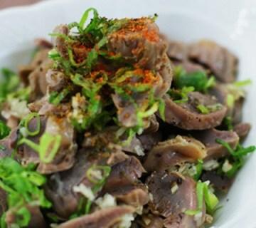 砂肝の韓国風柔らか煮