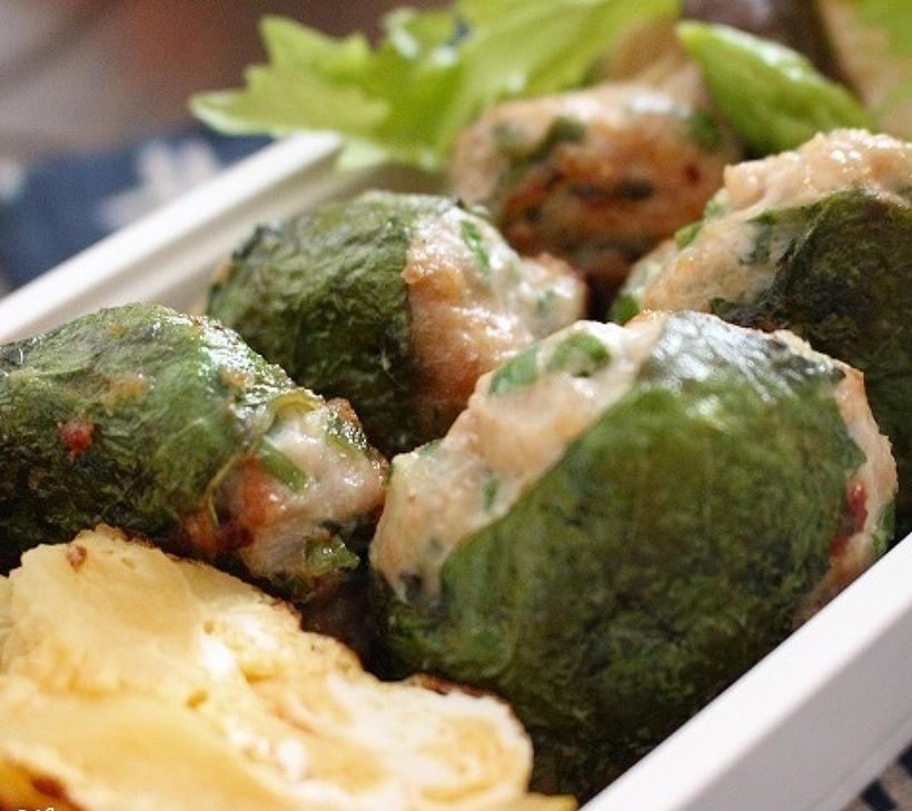 鶏餃子風ハンバーグ