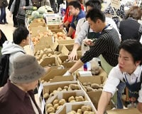 「ホクレン大収穫祭」は札幌でも実施しています