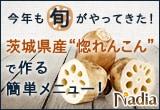 """今年も旬がやってきた!茨城県産""""惚れんこん""""で作る簡単メニュー大募集!"""