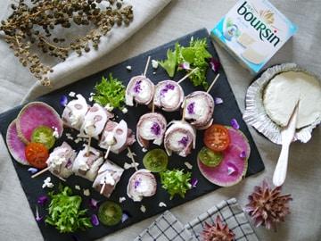 紫キャベツとレンコンで無限レシピ!3つの食材でできるフィンガーフード!