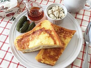 レモン&ブルサン サンドのジューシーフレンチトースト