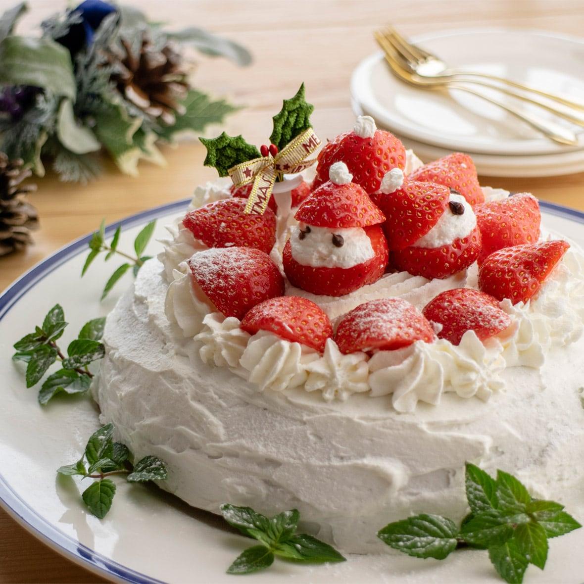 ホットケーキミックスでできる!スイッチを押すだけで簡単ショートケーキ
