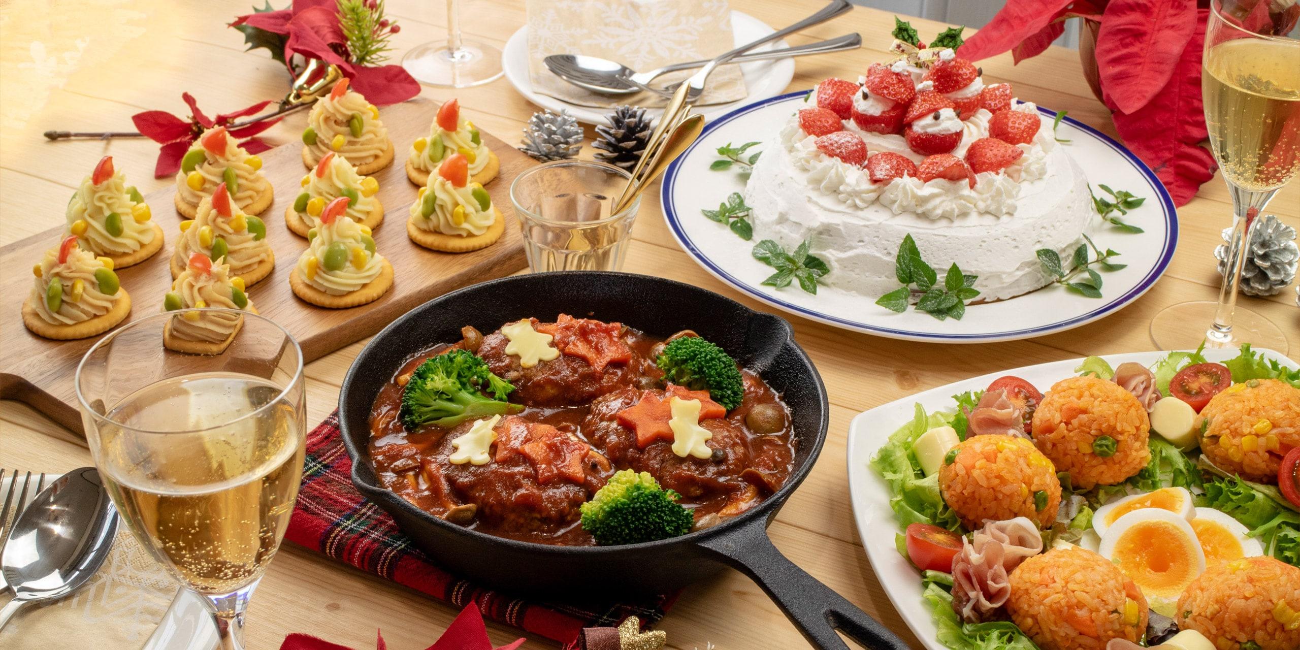子どもたちに人気のメニュー大集合!家族で楽しむクリスマスレシピ