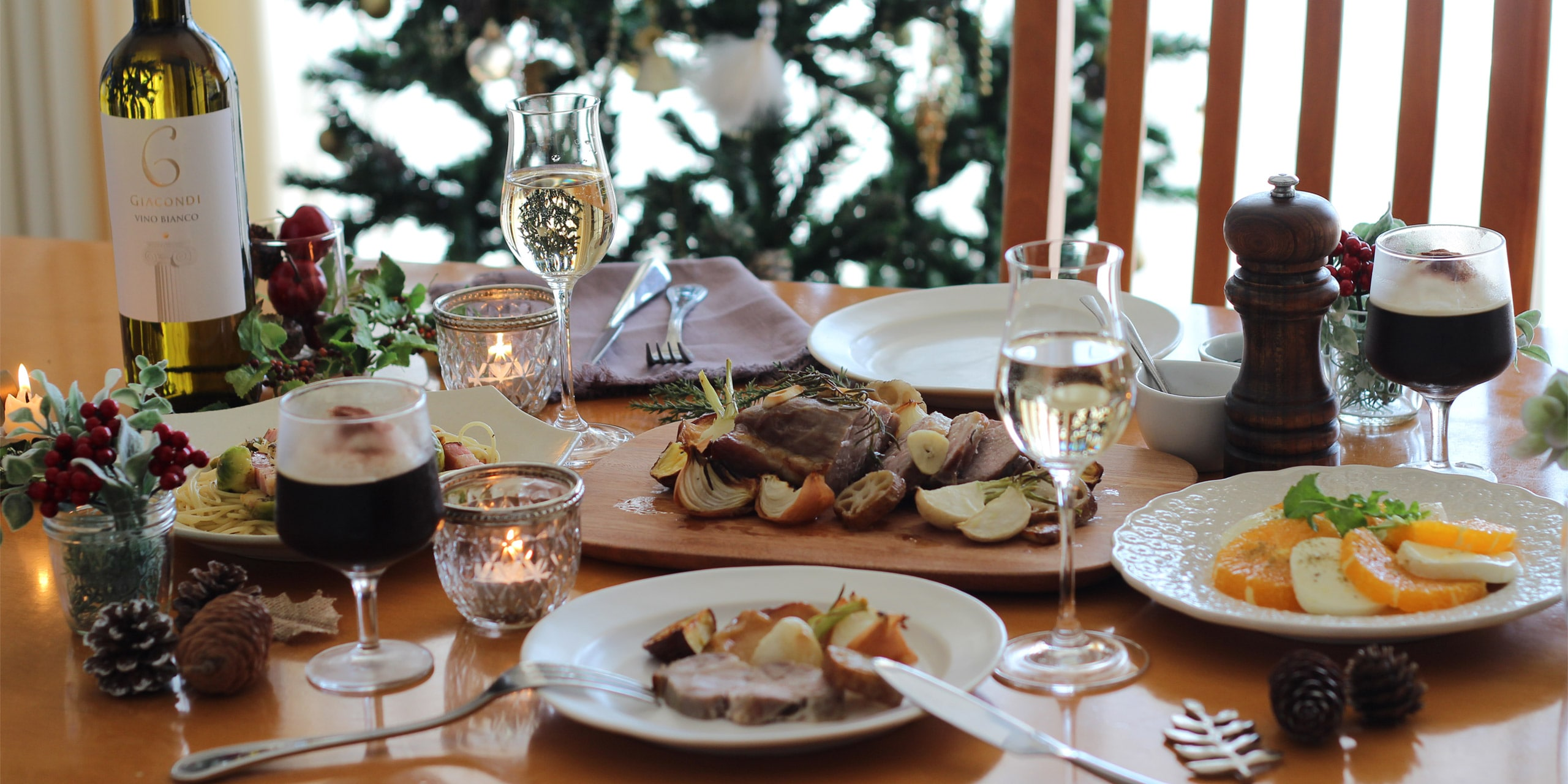 お家ディナーにおすすめ!カップルで楽しむおしゃれクリスマス
