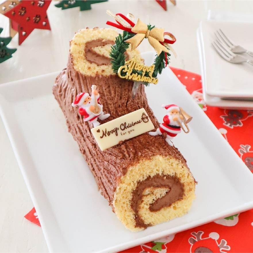 クリスマスケーキでおなじみブッシュドノエル