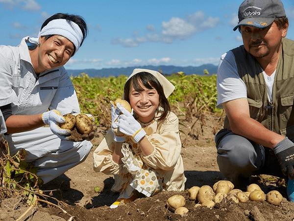 農業王国・北海道へ