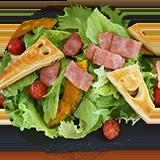 パイシートで簡単!パリパリおばけサラダ
