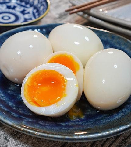 簡単絶品おつまみ♪白だしで作る味付け卵(筒井しょうた)