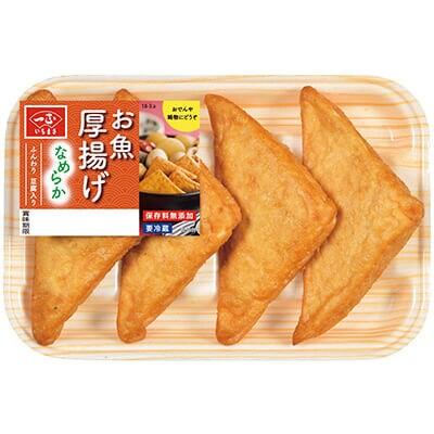 魚肉と豆腐でふんわり食感「お魚厚揚げ」