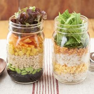 ごはん&麺のジャーレシピ