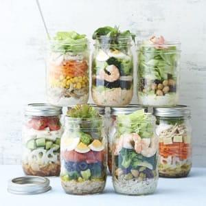 サラダのジャーレシピ