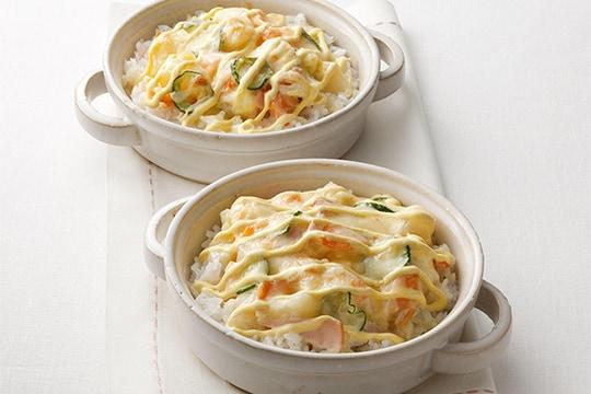 王道ポテトサラダを使ってアレンジレシピ